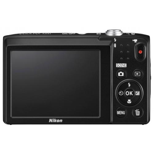 """Фотоаппарат Nikon Coolpix A100 silver 2.7"""" (VNA970E1)"""