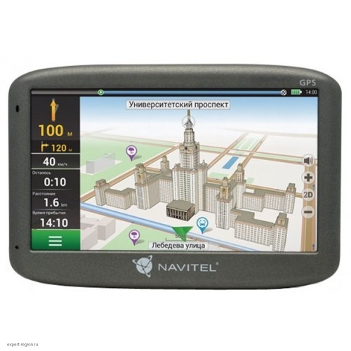 "Навигатор автомобильный GPS NAVITEL N500 (5""/480x272/WnCe+Navitel)"