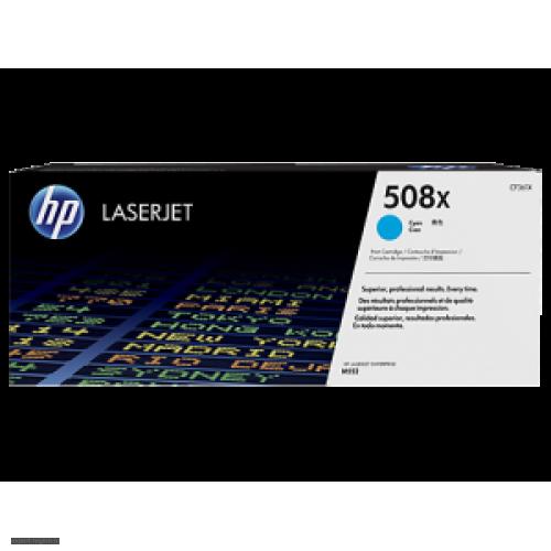 Картридж CF361X (№508X) HP Color LJ Pro M552/M553 Cyan (9500стр)