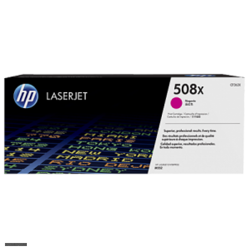 Картридж CF363X (№508X) HP Color LJ Pro M552/M553 Magenta (9500стр)