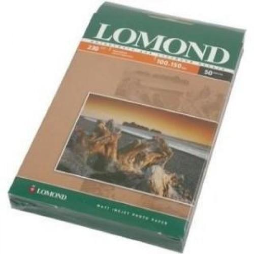 Бумага Lomond для струйной печати 10х15см, 230 г/м2, 50 листов, матовая (0102034)