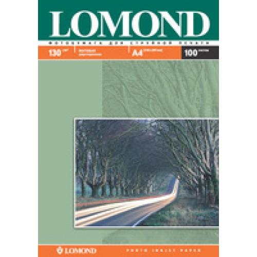 Бумага Lomond для струйной печати А4, 130 г/м2, 100 листов, матовая двусторонняя (0102004)