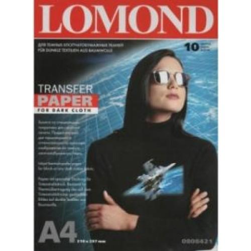 Бумага Lomond для термопереноса на темные ткани  А4, 10 листов (0808421)