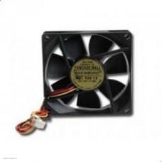 Вентилятор  80x80 на шарикоподшипнике, разъём в плату (FANCASE-BALL/D8025SM-3-B)