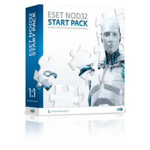ПО ESET NOD32 START PACK - лицензия на 1 год, 1Пк Box (NOD32-ASP-NS(BOX)-1-1)