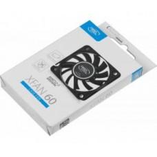 Вентилятор  60x60x12мм Deepcool XFAN 60 3pin+4pin (molex) 24dB 30g RTL