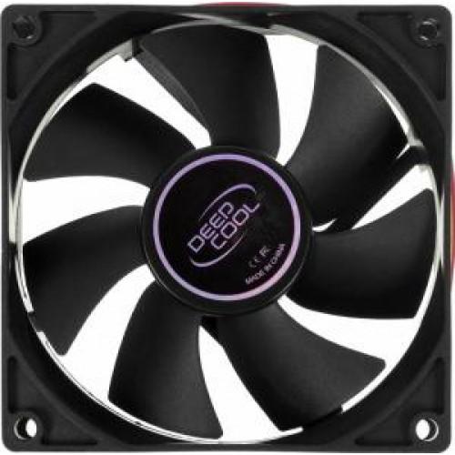 Вентилятор  90x90x25мм Deepcool XFAN 90 3pin+4pin (molex) 21dB 90g OEM