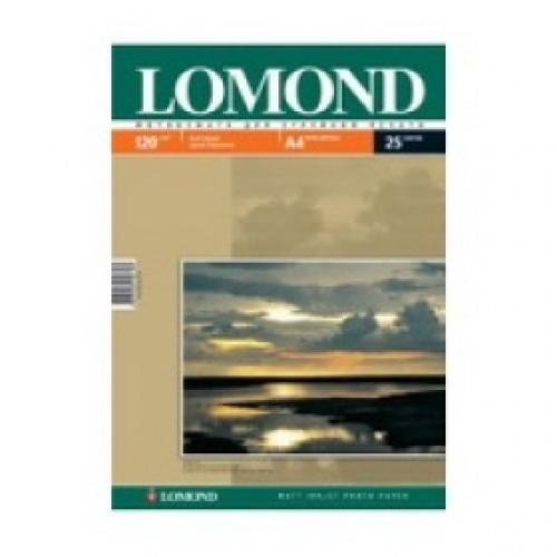 Бумага Lomond для струйной печати А4, 120 г/м2, 25 листов, матовая (0102030)