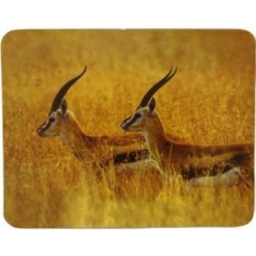 Коврик для мыши BURO BU-M40077 рисунок/антилопы (230x180x3mm)