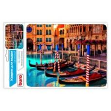 Коврик для мыши BURO BU-M80041 рисунок/Венеция (230x180x2mm)