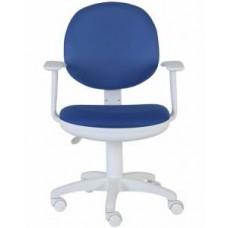 Кресло Бюрократ CH-W356AXSN/15-10 темно-синий 15-10 ткань крестовина пластиковая