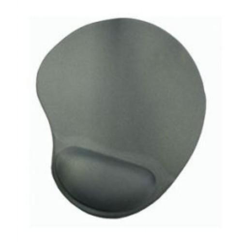Коврик для мыши BURO гелевый с валиком под запястье BU-GEL grey