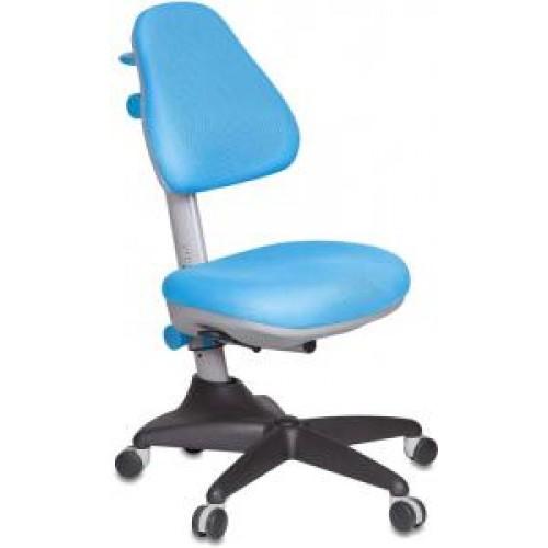 Кресло детское Бюрократ KD-2/BL/TW-55 светло-голубой TW-55 ткань крестовина пластиковая