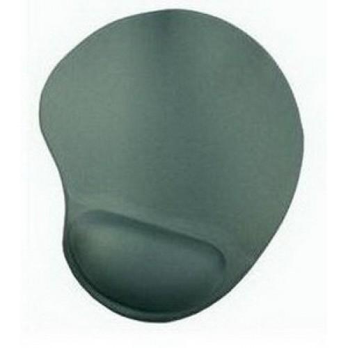 Коврик для мыши BURO гелевый с валиком под запястье BU-GEL green