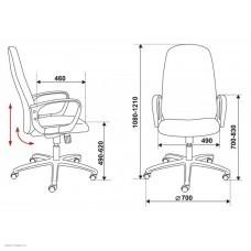 Кресло руководителя (CH-808AXSN/TW-11)