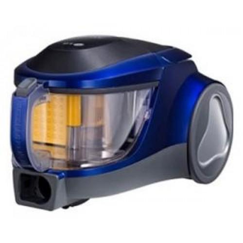 Пылесос LG V-K76R03HY чёрный/синий