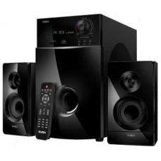 Акустическая система 2.1 SVEN MS-2100 чёрный (2x15W+50W, FM) + ПДУ