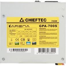 Блок питания 700W ATX Chieftec iArena GPA-700S