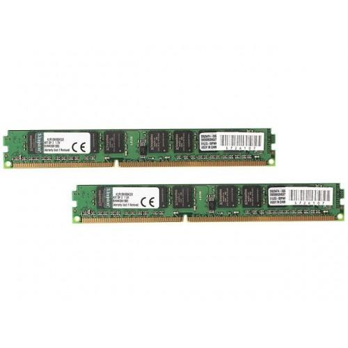 Комплект модулей DIMM DDR3 SDRAM 2*4096Mb Kingston