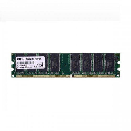 Модуль DIMM DDR SDRAM 1024 Мb (PC 3200, 400MHz) Foxline (FL400D1U3-1G)