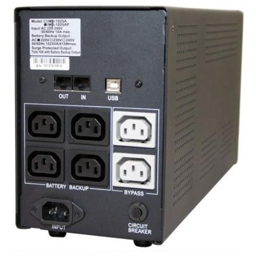 ИБП PowerCom Imperial IMP-2000AP 2000 ВА / 1200 Вт 165 - 275 В