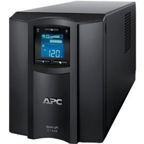 ИБП APC (SMC1500I) Smart-UPS 1500VA/900W, 180-287V, 7.7-27.6 мин, USB