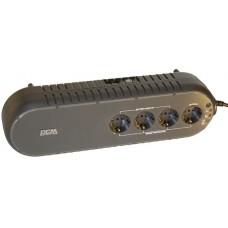 ИБП PowerCom WOW-850U, 165-275V, 13-15 мин, USB
