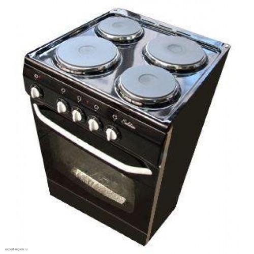 Плита De Luxe электрическая 5004.12э черный