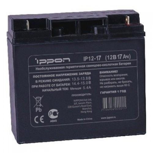 Батарея для ИБП Ippon IP12-17 12Вт 17Ач для Ippon