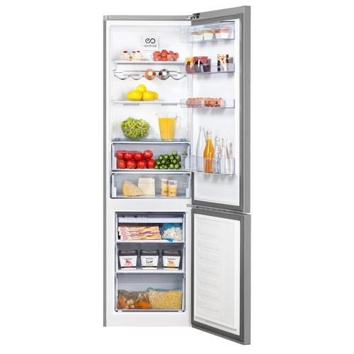 Холодильник Beko RCNK 400E20ZX серебристый
