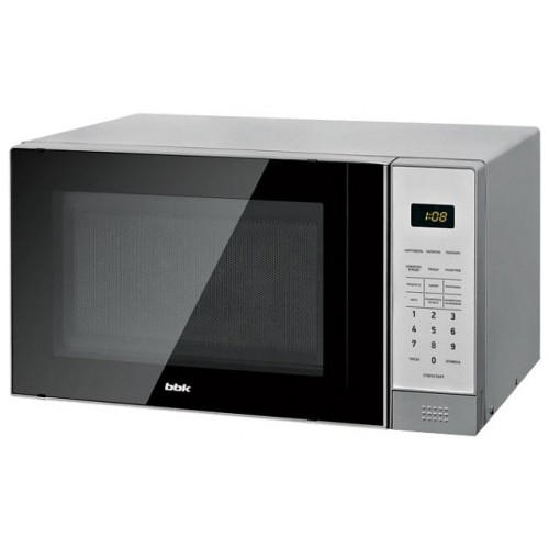 Микроволновая печь BBK 20MWS-729S/BS черный/серебро