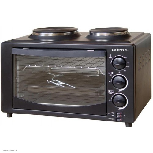 Мини-печь Supra MTS-302 black