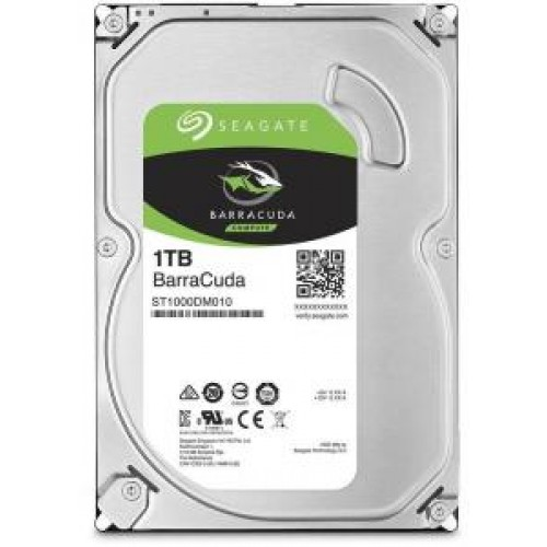 Накопитель HDD 1000 Gb Seagate ST1000DM010 (кэш 64Mb) Barracuda 7200.14 SATA 3.0 7200rpm 3.5""