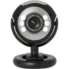 Web-камера Defender C-110 Black/silver (0.3Mp MF Mic)