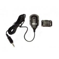 Микрофон Dialog M-100B Black проводной, клипса