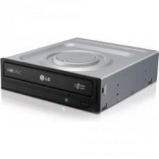 Привод DVD RAM LG GH24NSD0 black (SATA)