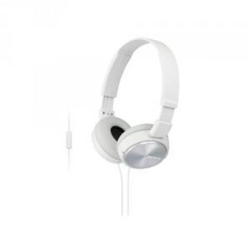 Наушники с микрофоном Sony MDR-ZX310AP/W white