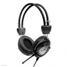 Наушники с микрофоном A4 Tech HS-19-1 2м Iron Grey 20 - 20000 Гц регулятор громкости мониторные