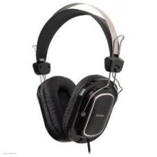 Наушники с микрофоном A4 Tech HS-200 black