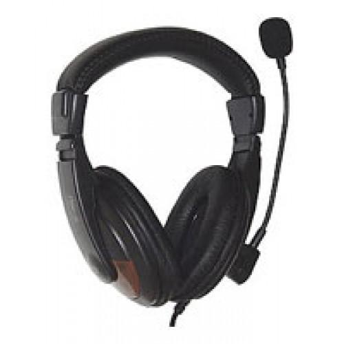 Гарнитура Dialog M-750HV кабель 2м (черная)