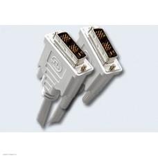 Кабель DVI-D 19M-19M Single Link 3.0м Gembird/Cablexpert, экран, феррит.кольца (CC-DVI-10)