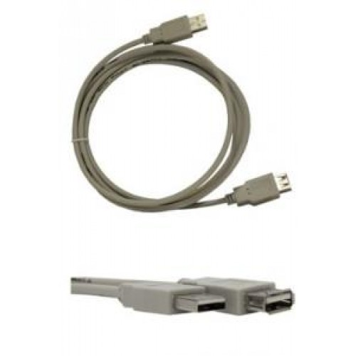 Кабель USB 2.0 Am-Af удлинитель  1.8м Gembird (CC-USB2-AMAF-6)
