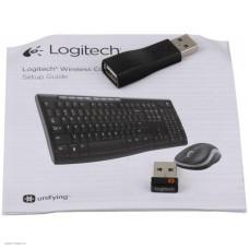Комплект беспроводной Logitech Wireless Combo MK270, USB (920-004518)