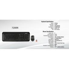 Клавиатура + мышь A4 V-Track 7200N