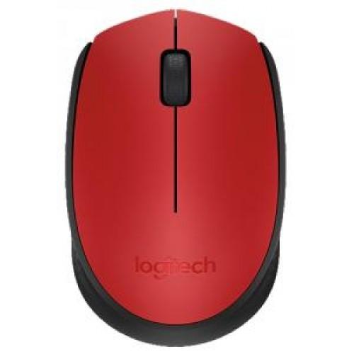 Мышь Mouse Logitech M171 Red оптический (1000dpi) беспроводной