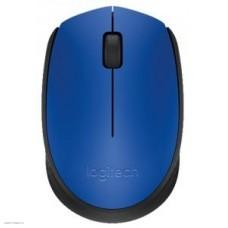Мышь Mouse Logitech M171 Blue оптический (1000dpi) беспроводной