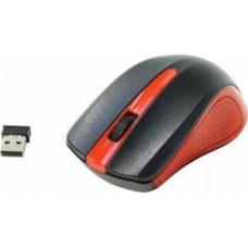 Манипулятор Oklick 485MW черный/красный