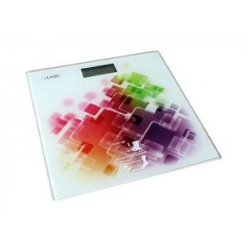Весы напольные Leran EB9373 F001 белый/абстракция