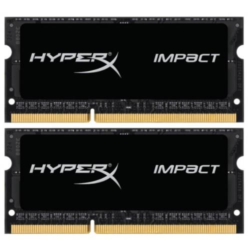 Комплект модулей SODIMM DDR3L SDRAM 2x8192Мb Kingston HyperX Impact