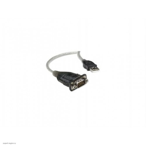 Кабель переходник USB 2.0 - COM Orient DB9M/AM, 1.8м, (USS-111N)